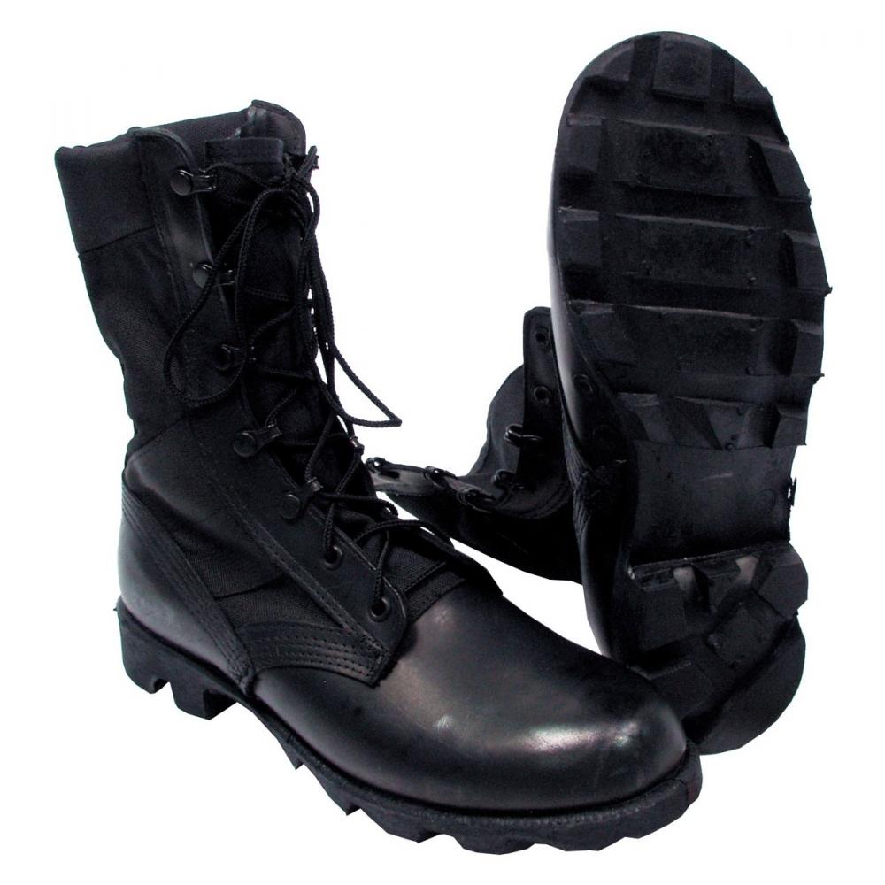 original us jungle boots schwarz army dschungel stiefel schuhe outdoor neu ebay. Black Bedroom Furniture Sets. Home Design Ideas