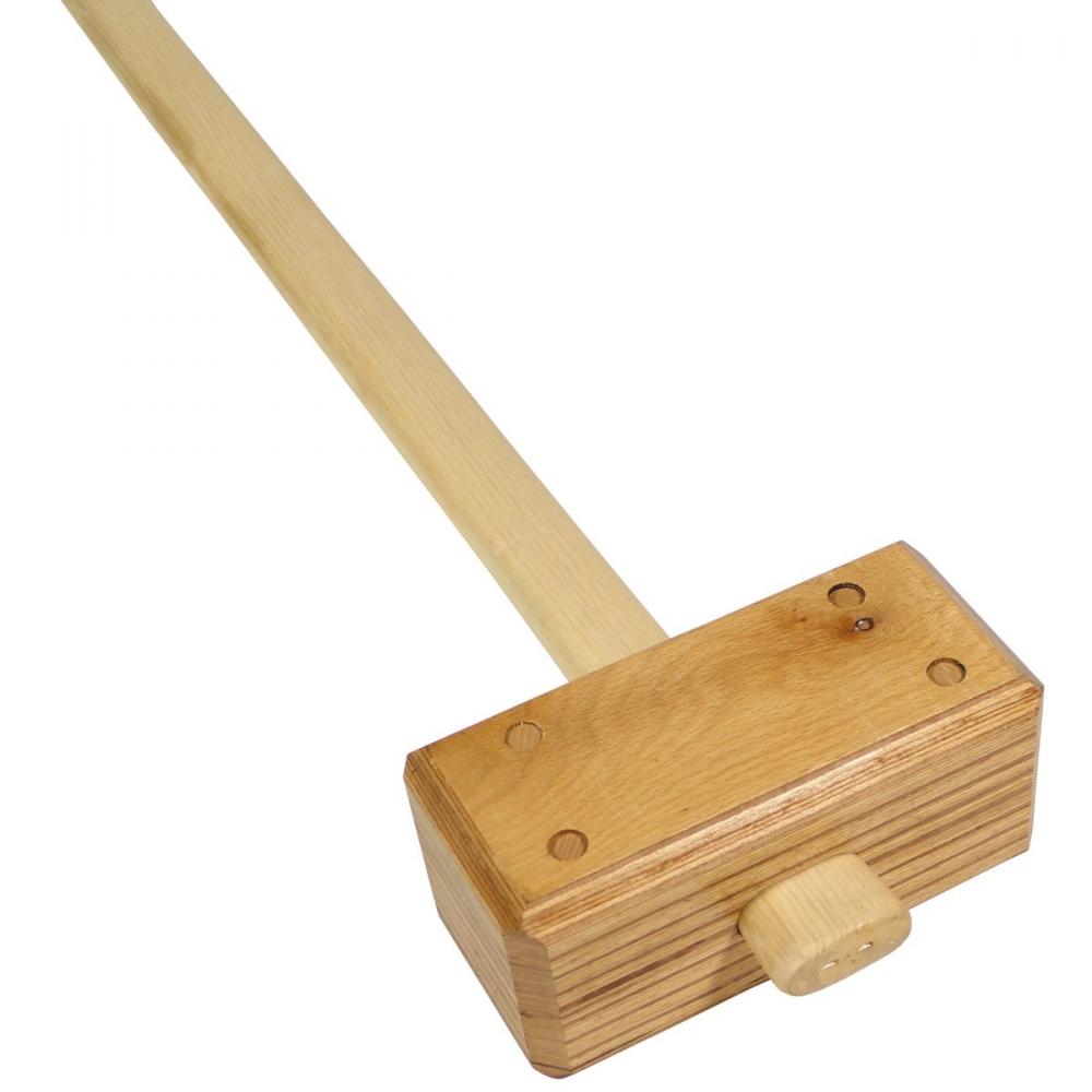 original holl. zelthammer holz hammer camping werkzeug 3,3 kg neuw