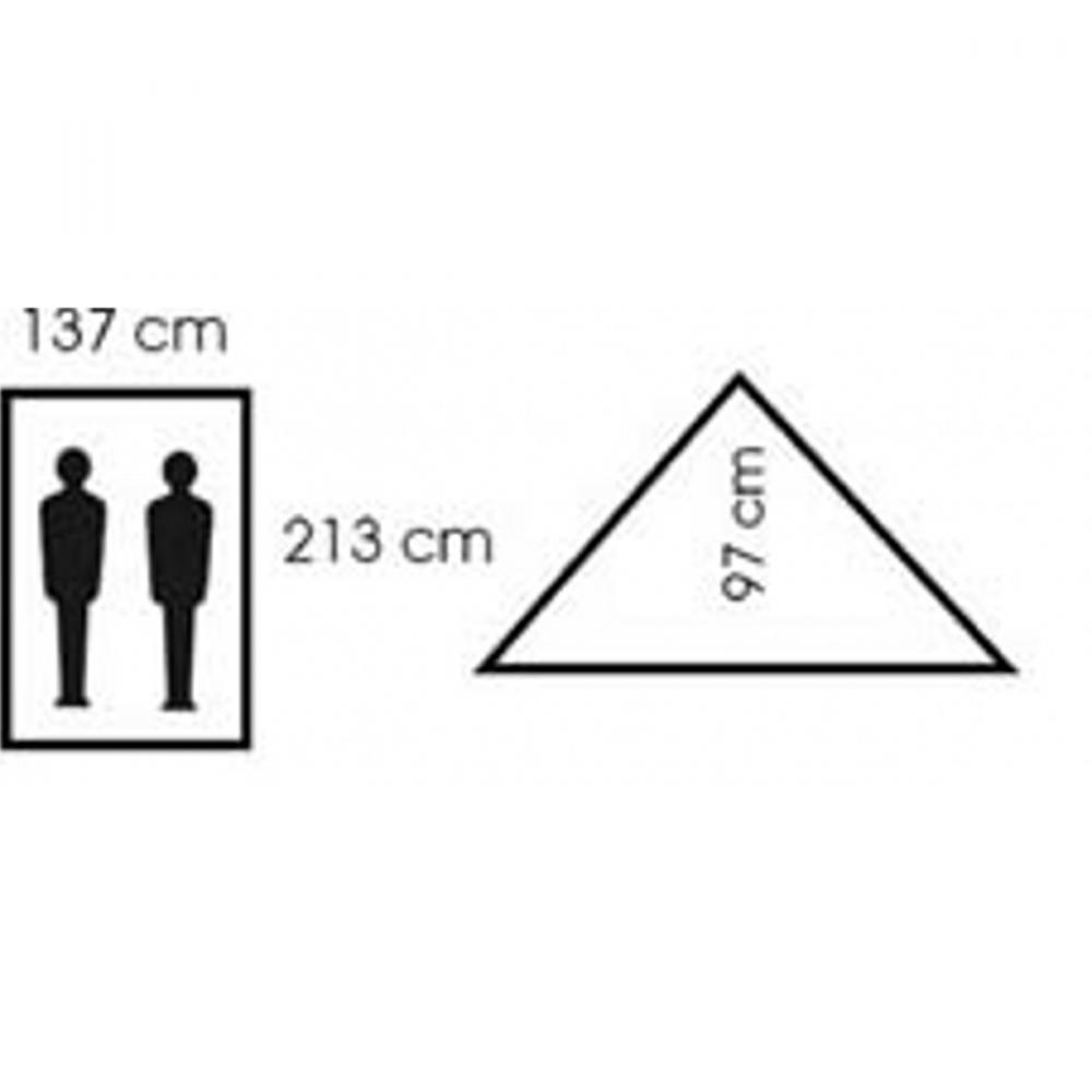 Zelt-Minipack-2-Personen-213-x-137-x-97-cm-Zweimannzelt-Moskitonetz-Camping-NEU Indexbild 11