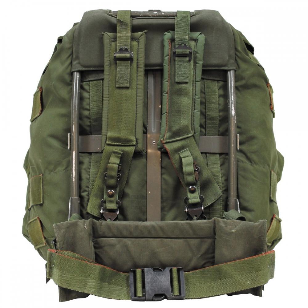 US Rucksack Alice Bag oliv large Metallgestell Backpack Daypack ...