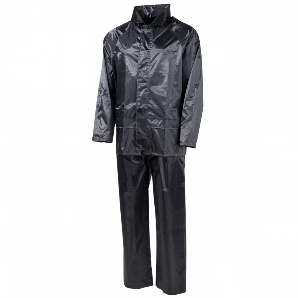 Regenanzug Regenkombi Regenjacke Regenhose Nässeschutz Regenbekleidung blau