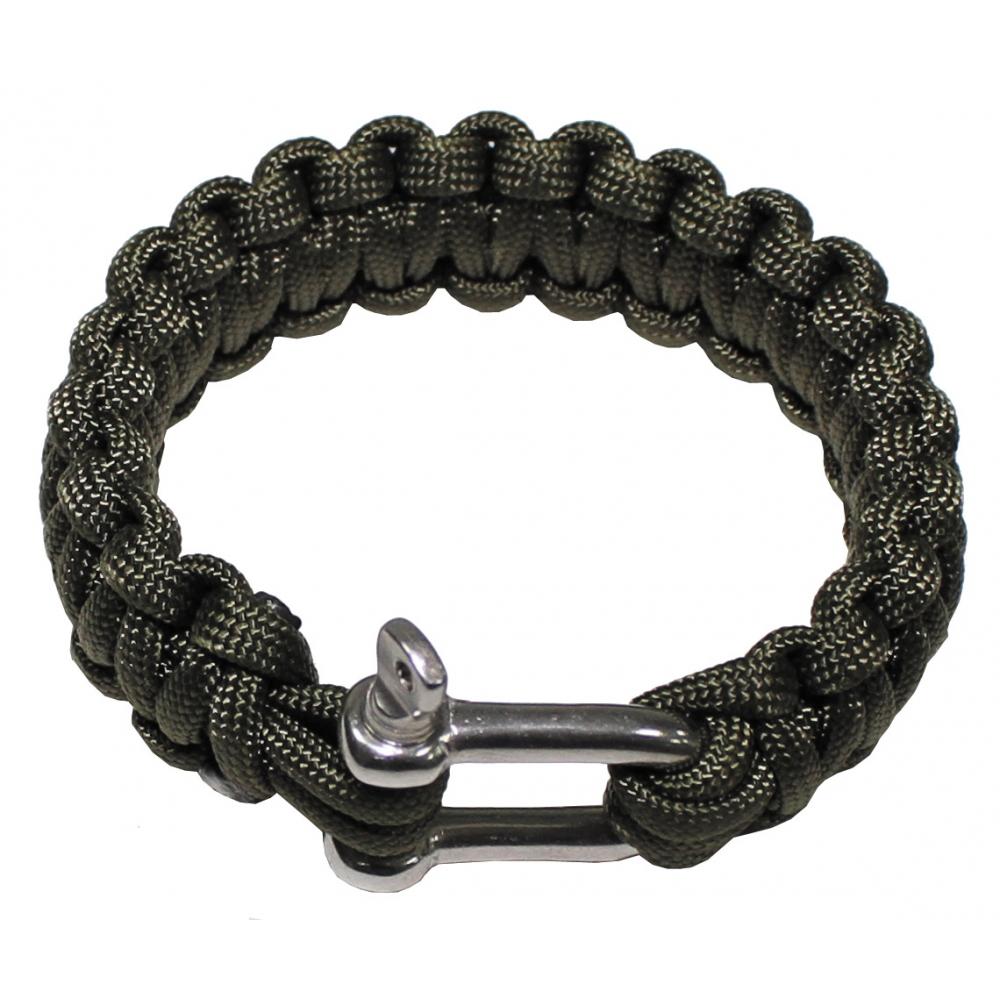 Bracelet Paracord Cord Largeur Largeur Largeur 2,3 cm Métal Fermeture Survival Outdoor Bracelet 428581