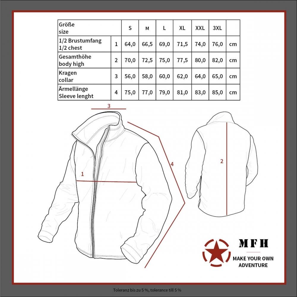US-Softshell-Jacke-GEN-II-Level-5-Army-Soft-Shell-wasserdicht-Herren-Outdoor Indexbild 14