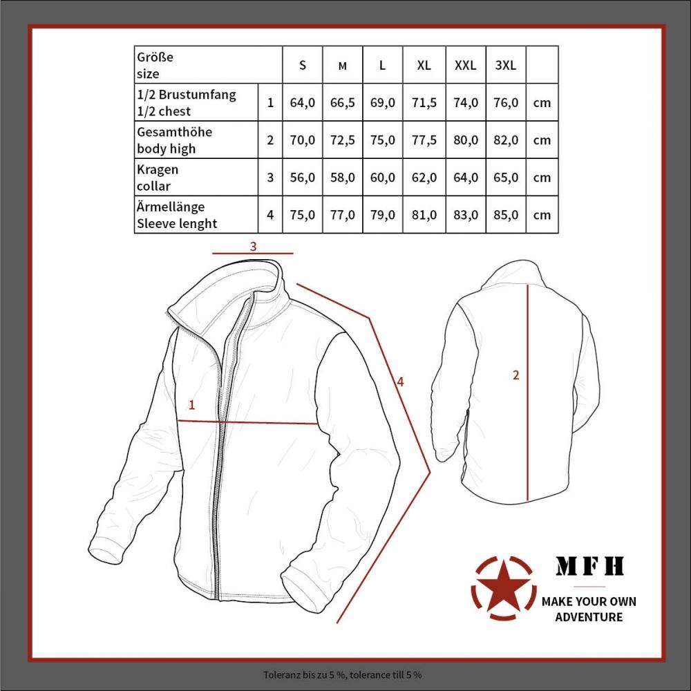 US-Softshell-Jacke-GEN-II-Level-5-Army-Soft-Shell-wasserdicht-Herren-Outdoor Indexbild 17