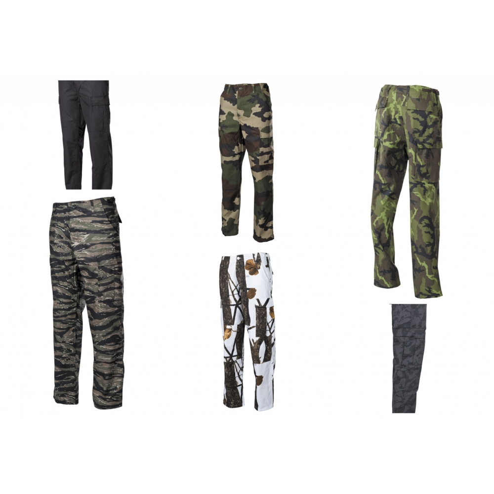 BDU Pantaloni da combattimento statunitensi HDT-camo MF 01324H