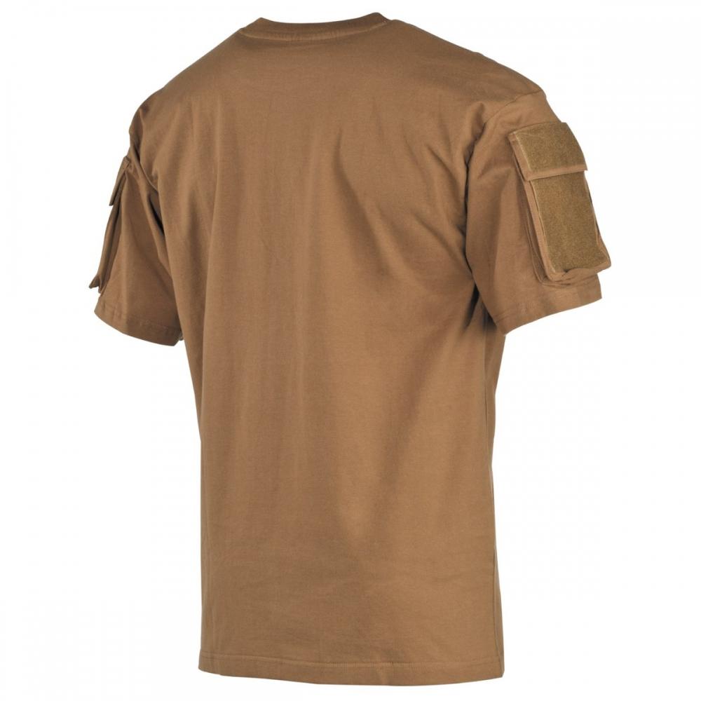cfa73878e2 US T-Shirt halbarm Ärmeltaschen Army Herren Shirt Outdoor Bundeswehr ...