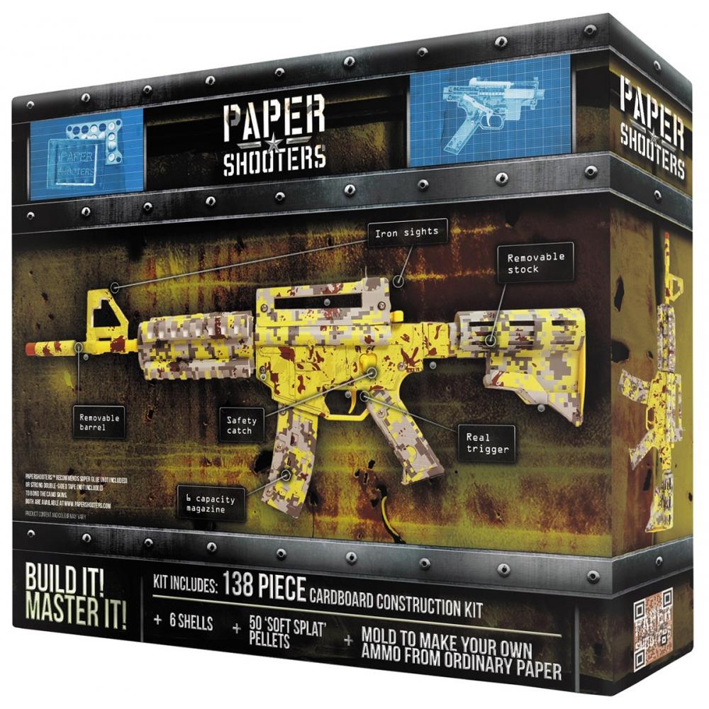 PAPER SHOOTERS Munition 500 Stück Spielzeug Gewehr Basteln NEU /& OVP