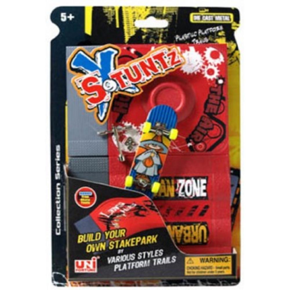 Stuntz X Build your Skatepark Finger Board Fingerskateboard Rampe Skateboard