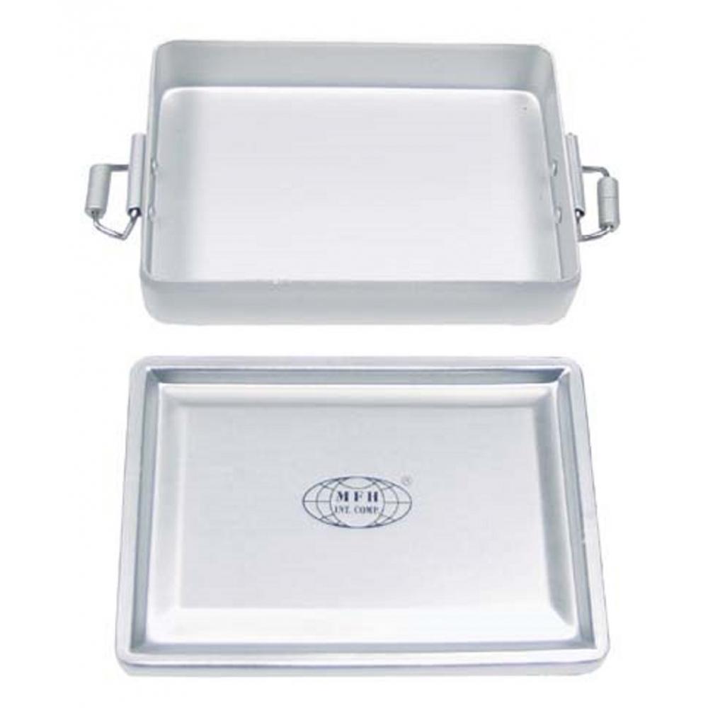 box aluminium wasserdicht silberfarben geochaching transportbox beh lter alubox ebay. Black Bedroom Furniture Sets. Home Design Ideas