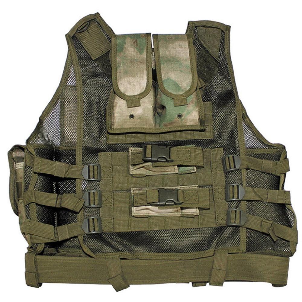 Weste-USMC-Einsatzweste-Tactical-Wachschutz-Security-Koppel-Militaer-Paintball
