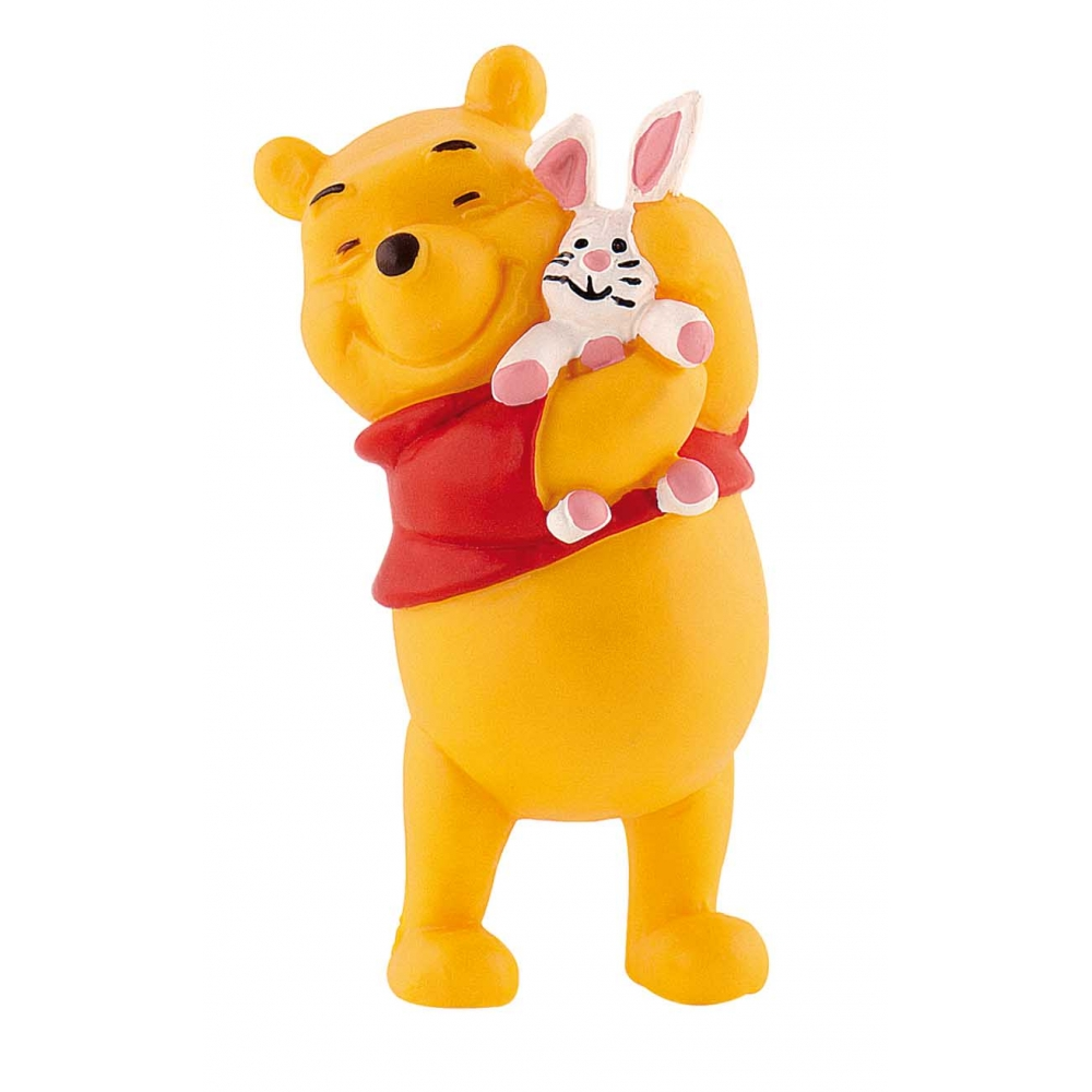 Bullyland Disney Winnie Puuh Tigger Ferkel I-Aah Eule Rabbit Kanga Figuren NEU